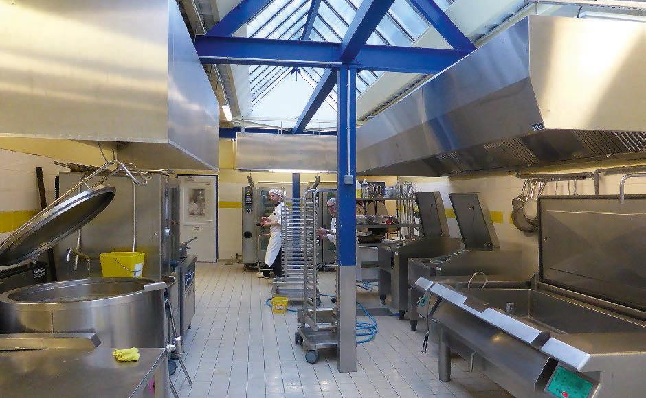 Zentralküche in Saint Brieuc: die erste Anlage in Europa mit R ...